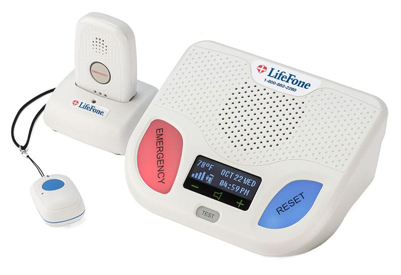 At Home And Mobile With Fall Detection Lifefone