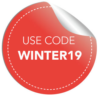 Winter Sale Badge