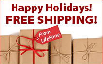 Happy Holidays! Free Shipping!
