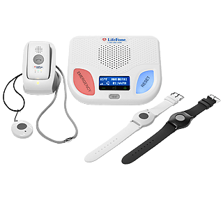 At Home & On-the-Go GPS Medical Alert System