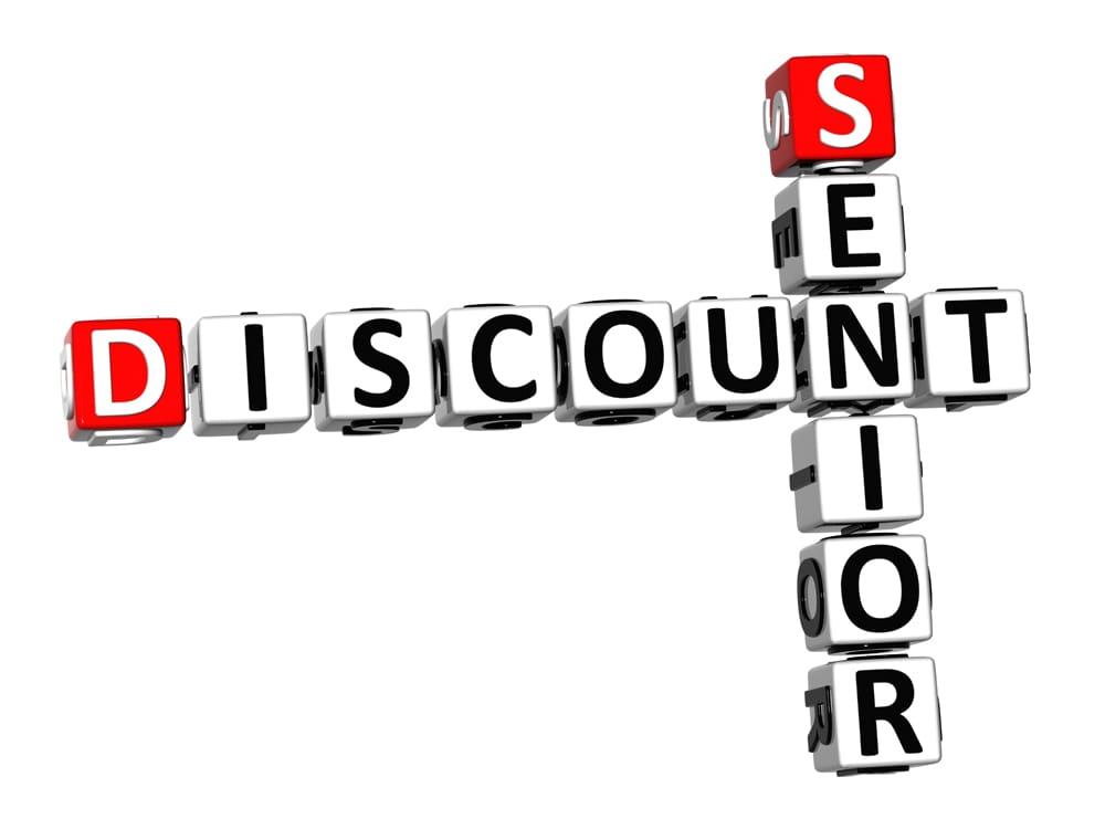 Senior Discount