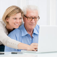 Connecting with your aging parents through technology